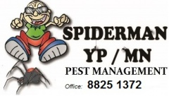 Spiderman YP/MN Pest Management